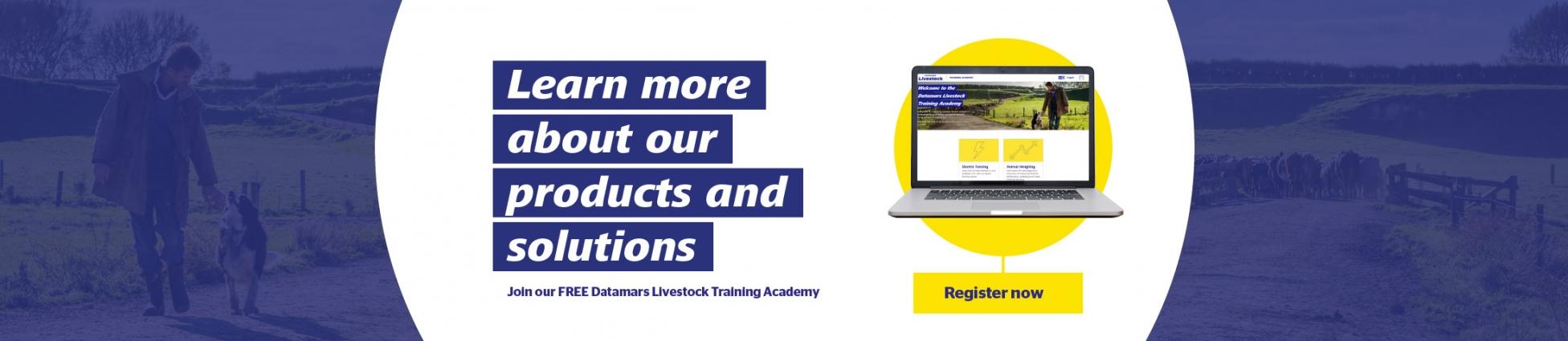 Go to Datamars Training Academy